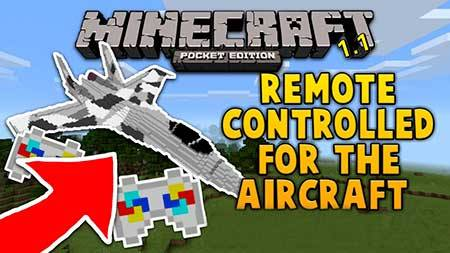 Мод Remote Controlled Aircraft для Minecraft PE