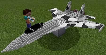 Remote Controlled Aircraft mcpe 1
