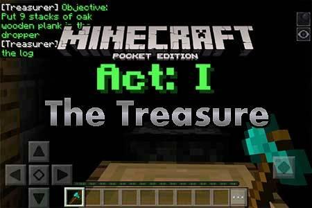 Карта The Treasure для Minecraft PE