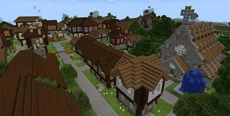 Карта Castle Adventure для Minecraft PE