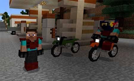 Dirt Bikes mcpe 1