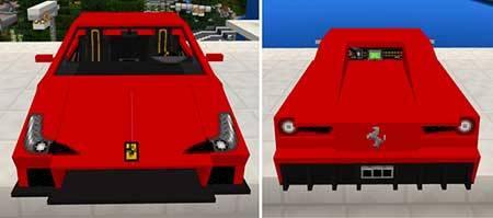 Ferrari 458 Italia mcpe 4