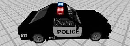 Police Car mcpe 5
