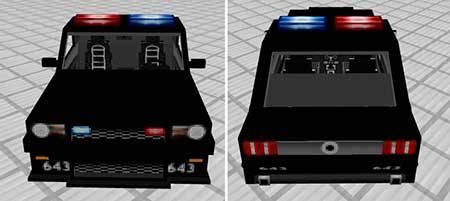 Police Car mcpe 7