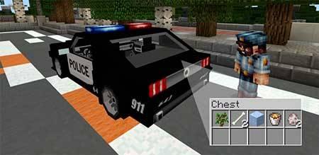 Police Car mcpe 3