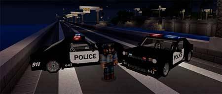 Police Car mcpe 4