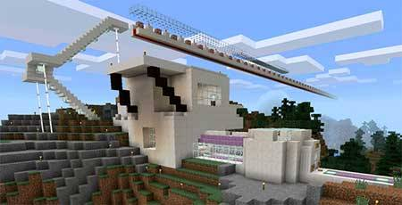 Simple Command Mansion mcpe 4