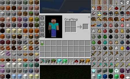 Infinite Items mcpe 2