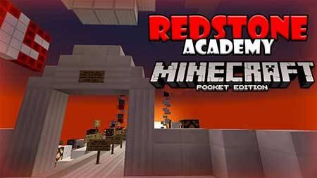 Карта The Redstone Academy  для Minecraft PE