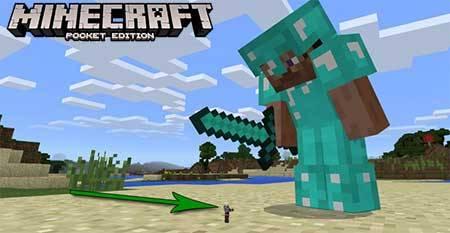 Мод Ant Man Boss для Minecraft PE