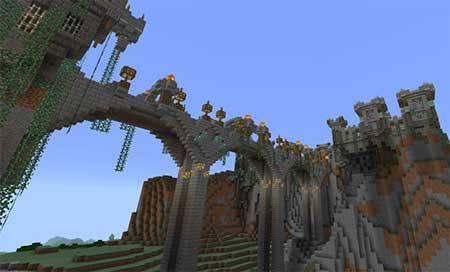 Castle Adventure mcpe 2