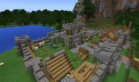 Castle Adventure mcpe 5