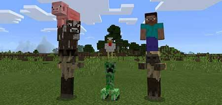Solid Entities mcpe 1