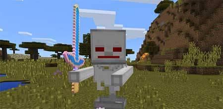 Robot Skeleton mcpe 1