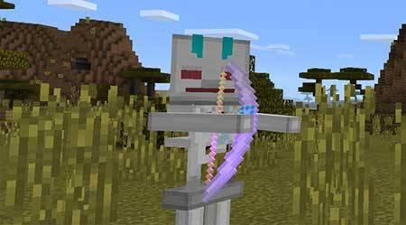 Robot Skeleton mcpe 2