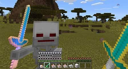 Robot Skeleton mcpe 3