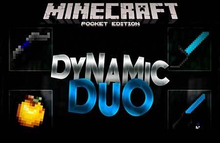 Текстуры DynamicDuo PVP для Minecraft PE