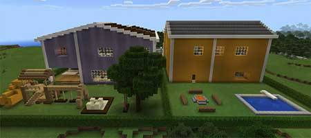 Redstone Neighborhood mcpe 6