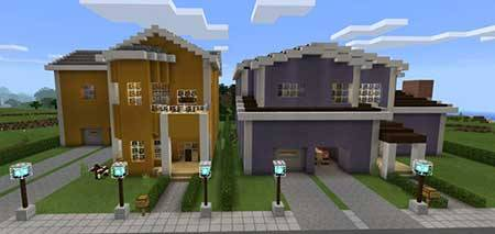 Redstone Neighborhood mcpe 1