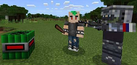 Alex's Better Weapons mcpe 1