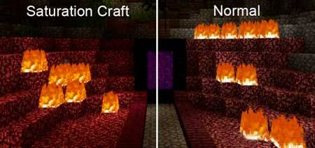 Saturation Craft mcpe 1