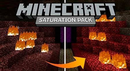 Текстуры Saturation Craft для Minecraft PЕ