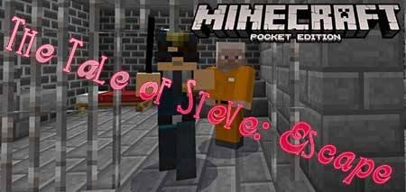 Карта The Tale of Steve: Escape для Minecraft PE
