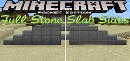 Текстуры  Full Stone Slab Sides для Minecraft PE