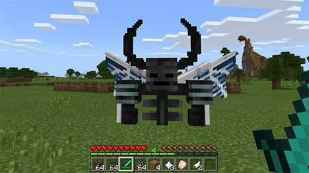 Wither Demon Boss mcpe 2