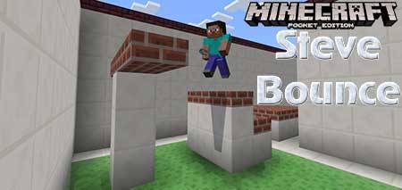 Карта Steve Bounce для Minecraft PE