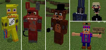 Five Nights At Freddy's mcpe 1