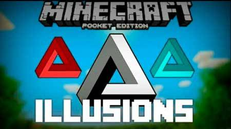 Карта World of Illusions для Minecraft PЕ
