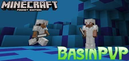 Карта BasinPVP для Minecraft PE