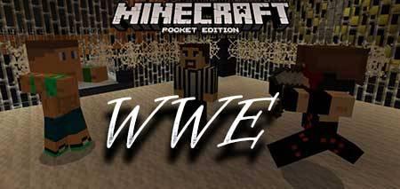 Мод WWE для Minecraft PE