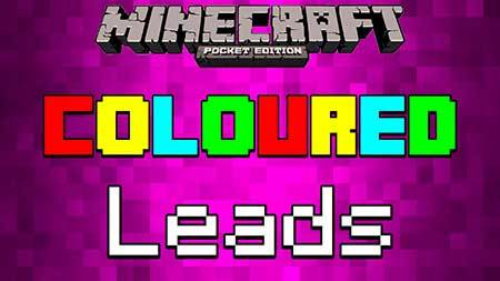 Текстуры Colored Leads для Minecraft PE