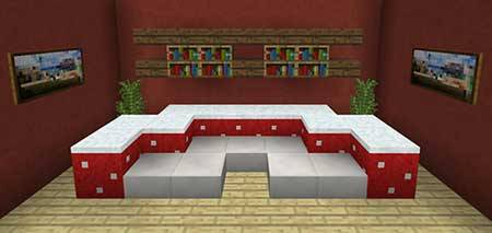 10 Sofa Ideas mcpe 1