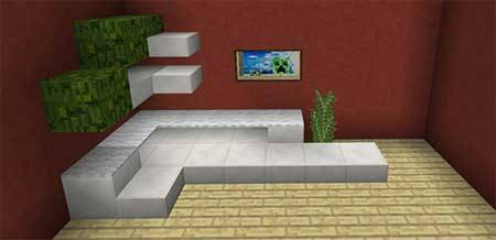 10 Sofa Ideas mcpe 3