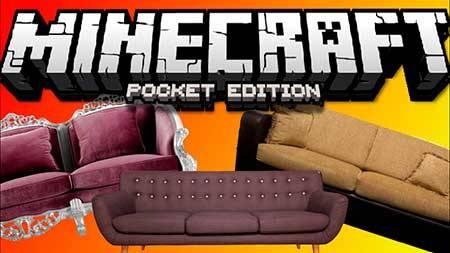 Карта 10 Sofa Ideas для Minecraft PE