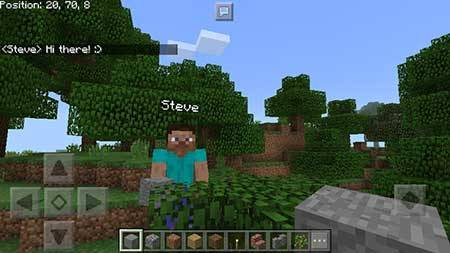 ChatCoords mcpe 1