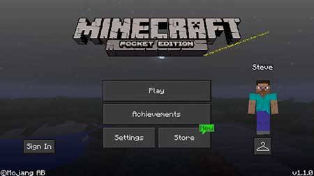 Night Mode GUI mcpe 1