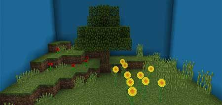 Find The Button: Biome Edition mcpe 1