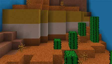 Find The Button: Biome Edition mcpe 3