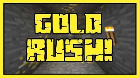 Карта Gold Rush для Minecraft PE