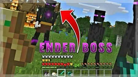 Мод The Ender Boss для Minecraft PE