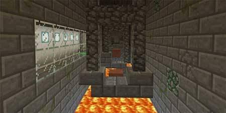 Карта Deathrun для Minecraft PE