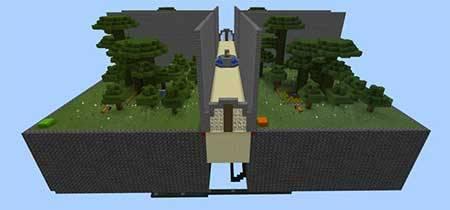 Карта The Wall для Minecraft PE