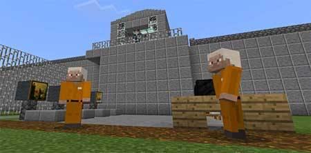 Карта Prison Life для Minecraft PE
