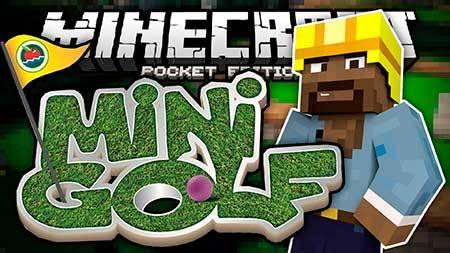 Карта Minigolf Course для Minecraft PE