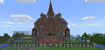 Mansion Findell mcpe 2