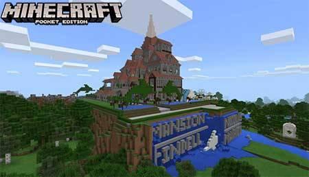 Карта Mansion Findell для Minecraft PE